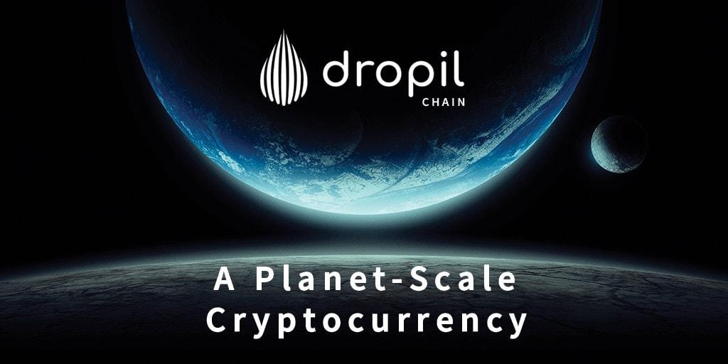 Dropil chain banner